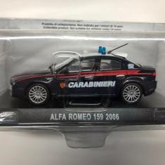Macheta Alfa Romeo 159 - 2006 CARABINIERI scara 1:43