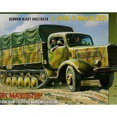 + Macheta 1:35 Zvezda 3603 -  German Heavy Halftrack L 4500 R Maultier +