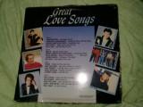 Disc vinil,vinyl,GREAT LOVE SONG,Dublu vinil pickup T.GRATUIT