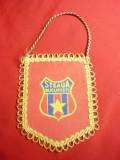 Fanion FC Steaua Bucuresti , h= 12 cm , textil