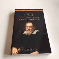 GALILEO GALILEI, SCRISORI COPERNICANE. EDITIE BILINGVA ITALIANA- ROMANA