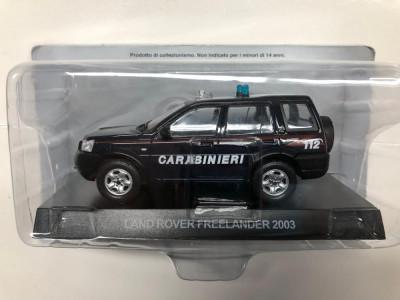 Macheta Land Rover Freelander - 2003 CARABINIERI scara 1:43 foto