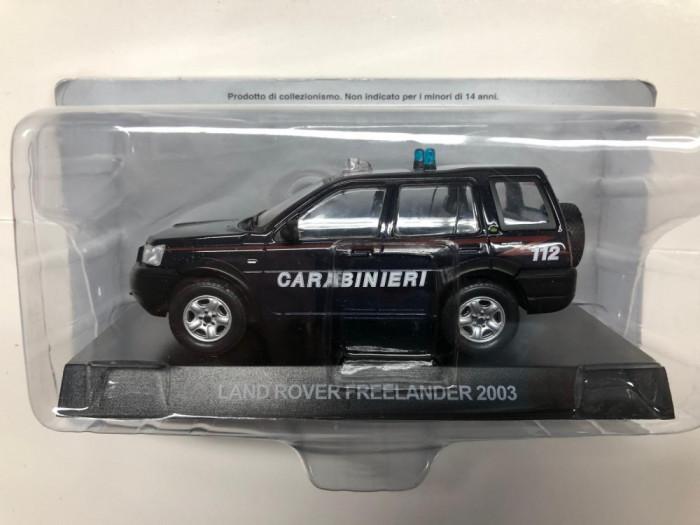 Macheta Land Rover Freelander - 2003 CARABINIERI scara 1:43