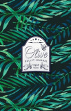 Olive Bullet Journal: Tropical Leaves Dotted Bullet Journal - 130 Quality Pages, Paperback