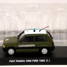 Macheta Fiat Panda 1000 Fire - 1986 CARABINIERI scara 1:43