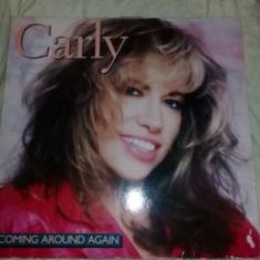 Disc vinil,vinyl,Carly Simon-Coming Around Again 1987,vinil pickup T.GRATUIT