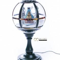 Glob decorativ pentru Craciun de interior/exterior, Zen Art Deco
