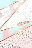 Bullet Journal: Marble + Gold Designer Bullet Journal Dot Grid Journal, Paperback