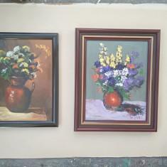 Pictura / tablou - natura statica cu flori - de Podolyak Vilmos