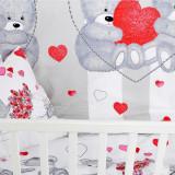 Lenjerie pat copii Zen Art Deco – Inimioare