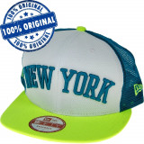 Sapca New Era New York Yankees - originala - flat brim - snapback, M/L, S/M, Din imagine