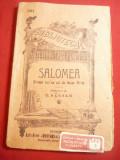 Oscar Wilde - Salomea -drama ,trad.Z.Barsan ,BPT 261 , 80 pag