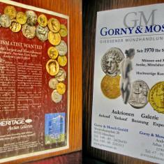2 Reviste Money Trend Licitatii Monede vechi 2008/2013.
