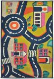 Covor Decorino, C-032204, Polipropilena, Copii & Tineret, 133 x 190 cm, Multicolor