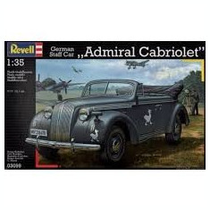 + Macheta 1/35  Revell 3099 German Staff Car Admiral Cabriolet +