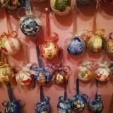 Vând globuri decorative lucrate manual pentru sărbătorile de iarna
