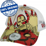 Sapca New Era Iron Man - originala - snapback - baseball cap, Marime universala, Din imagine
