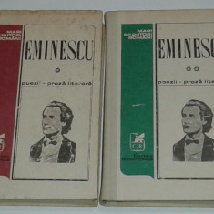 M.EMINESCU - POEZII si PROZA LITERARA           Vol.1.2.
