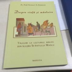 PR. STANLEY HARAKAS, TALCUIRI LA LECTURILE BIBLICE DIN SLUJBA SFANTULUI MASLU