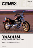 Clymer Yamaha Section One: XV700-1100 Virago 1981-1999, Section Two: XV535 Virago 1987-2003, Paperback (10th Ed.)