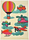 Covor Decorino C-032210 Polipropilena Copii & Tineret 160 x 235 cm, Multicolor
