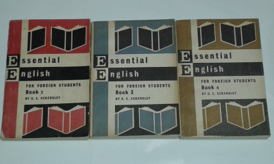 C.E.ECKERSLEY - ESSENTIAL ENGLISH FOR FOREIGN STUDENTS       Vol. 2.3.4. foto