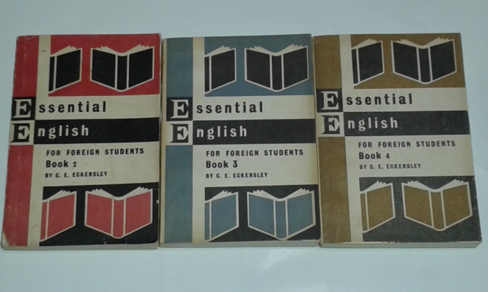 C.E.ECKERSLEY - ESSENTIAL ENGLISH FOR FOREIGN STUDENTS       Vol. 2.3.4.