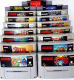 Jocuri Nintendo SNES - Super Mario World All Stars Kirby Street Fighter 2 Turbo
