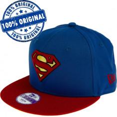 Sapca New Era Superman pentru copii - originala - flat brim - snapback
