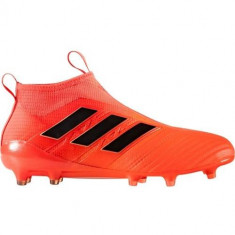 Ghete Fotbal Adidas Ace 17 Purecontrol FG BY2457, 43 1/3, Orange, Barbati