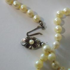 Colier perle naturale cu inchizatoare din argint -2847