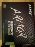Placa video MSI GeForce GTX 1060 Armor OCV1 3GB GDDR5 192-bit