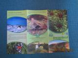 Pliant turistic Jneapanul, Parcul Natural Muntii Maramuresului.
