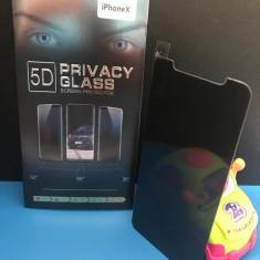 Folie Protectie Sticla Privacy Iphone X, Colorata