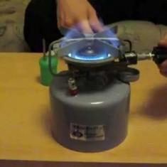 Aragaz arzator camping portabil tip Primus Coleman pe benzina alcool spirt gaz