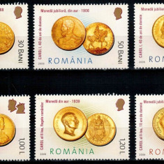 Romania 2006, LP 1710, Monede romanesti de aur, seria, MNH! LP 7,10 lei, Istorie, Nestampilat