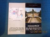Pliant turism istoric Marasesti. Anii '70/'80.