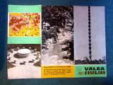 Valea Jiului. Pliant ONT 1960/1970.