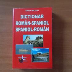 Dictionar român - spaniol, spaniol - român