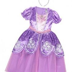 Costum/rochie Noua Disney +Coronita Sofia 3-4-5-6 ani Anglia