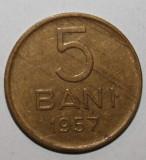 OKAZIE !!! 5 BANI 1957 . UNC .