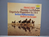 Liszt – Mazeppa/Preludes/Hungarian..(1975/Deutsche Grammophon/RFG)- Vinil/Ca Nou
