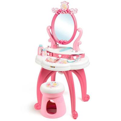 Jucarie Smoby Masuta de machiaj Disney Princess 2 in 1 cu accesorii foto