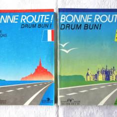 """BONNE ROUTE! Drum Bun! - METHODE DE FRANCAIS"", Vol. I+II, P.  Gibert, 1992"