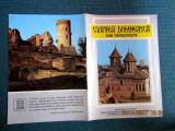 Pliant turistic Curtea Domneasca din Targoviste.