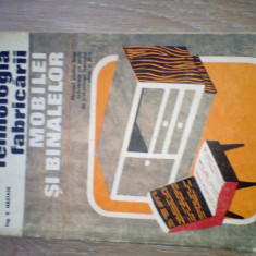 Nastase Tehnologia fabricarii mobilei si binalelor manual cls. XI 1978