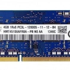 KIT Memorie Laptop SKhynix 8GB(2x4) DDR3 PC3L-12800S 1600Mhz 1.35V, 8 GB, 1600 mhz, Hynix