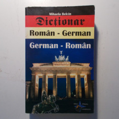 Dictionar român - german, german - român