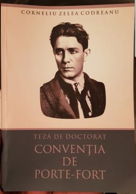 CORNELIU ZELEA CODREANU TEZA DE DOCTORAT CONVENTIA DE PORTE FORT LEGIONAR GARDA foto