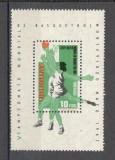Uruguay.1967 C.M. de baschet Montevideo-Bl.  EB.590
